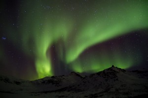 Aurora da me fotografata a Tromso (Norvegia)