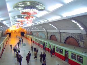 Metropolitana di Pyongyang (fonte wikipedia)