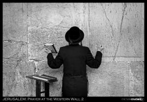 prayer at the western wall 2