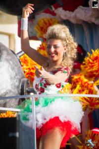 Benedetta Taddei, Carnevale di Follonica 2017, Rione 167 Ovest