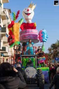 Rione Capannino, Carnevale di Follonica 2017