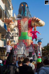 Rione Pratoranieri, Carnevale di Follonica 2017